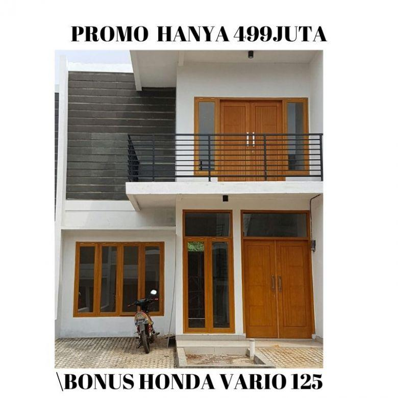 Rumah Semi Villa Dekat Tol Cileunyi View Bandung 3 Kamar Tidur