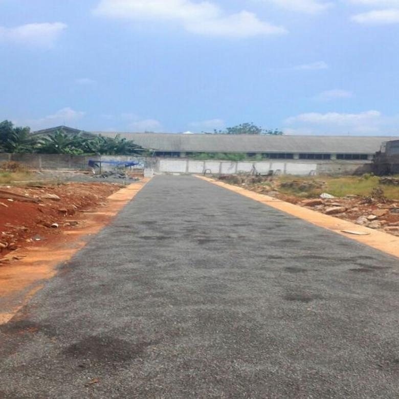 Tanah kavling Bebas Banjir  samping campus istn
