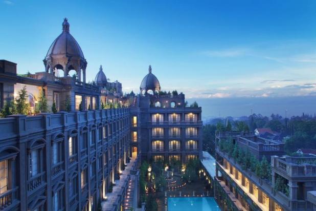 Rp870mily Hotel Dijual
