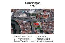 Tanah Gemblongan Surabaya Tengah Kota Strategis Murah Luas