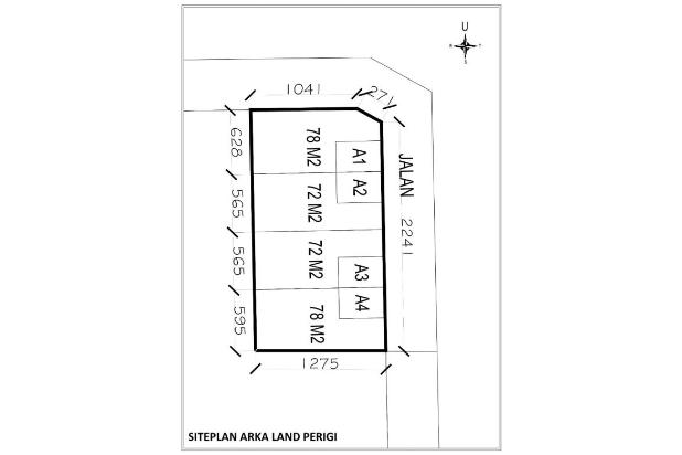 Tanah Kaplingan Dekat Lapangan Bola Perigi 12 X Cicil 17996164
