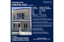 Rumah greenlake surabaya timur rungkut free biaya murah merr