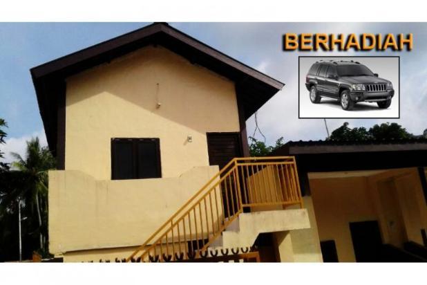 dijual rumah kontrakan 14 kamar di senggigi lombok berhadiah mobil cherokee