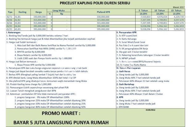 Dapatkan Kesempatan Punya Rumah di Bojongsari Depok Bermodal 5 Juta 11065236