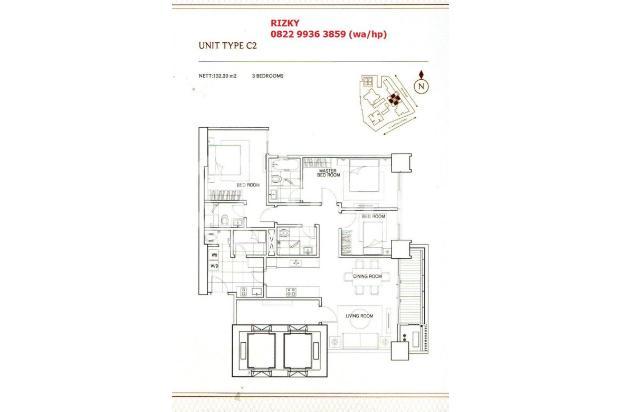 Pondok Indah Residences Amala Tower 3BR connect to PIM 3 15422692