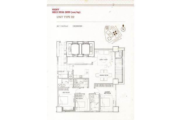 Pondok Indah Residences Amala Tower 3BR connect to PIM 3 15422693