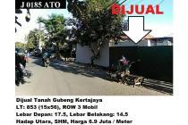 Dijual Tanah Luas dan Nyama di Gubeng Kertajaya Surabaya