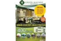 Rumah Green Magani Residence Dekat Stasiun Rawa Buntu
