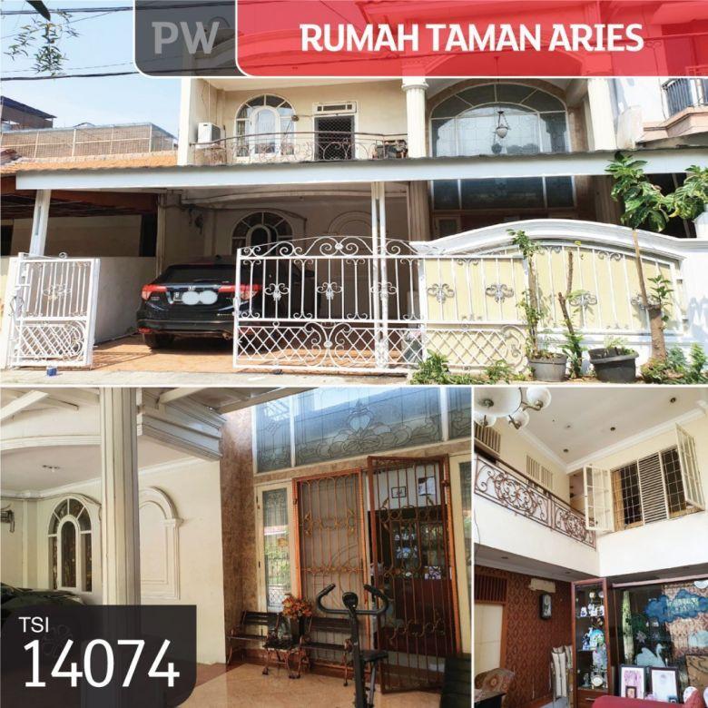 Rumah Taman Aries, Jakarta Barat, 8x15m, 1½ Lt, SHM