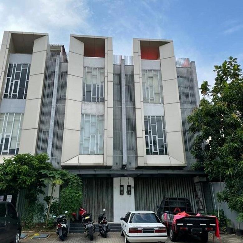 2 Ruko Gandeng Disewa di Cempaka Putih Tengah di Jakarta Pusat