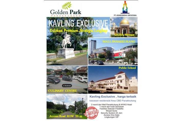 tanah kavling exclusive golden park panakukang mas