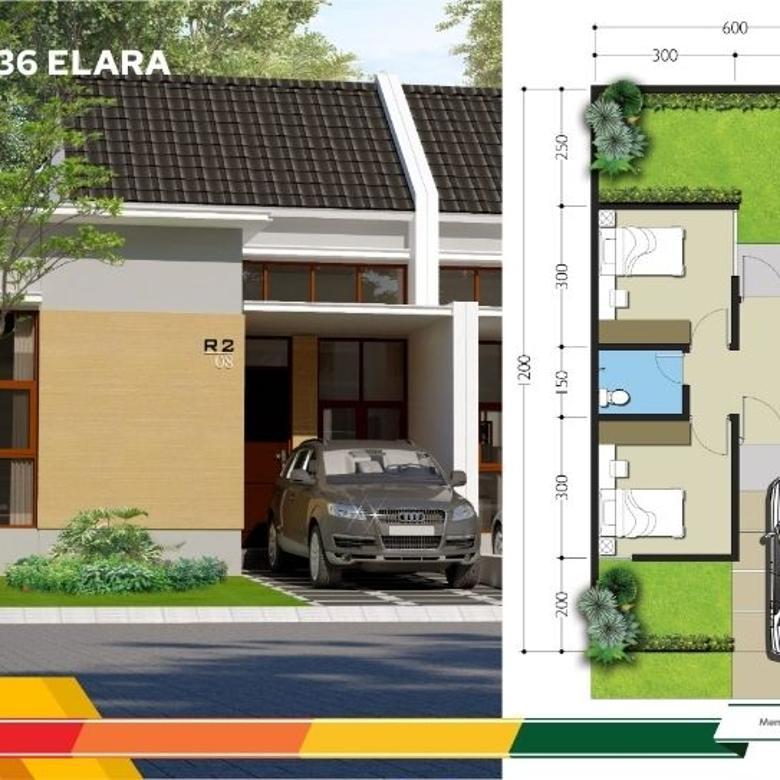 Dijual Rumah di Jakabring Bernuansa Resort tipe 36, Palembang