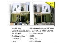 Aset Sitaan Rumah Queen Lontar Residence Lenteng Agung Jakarta