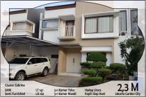 Dijual rumah dicluster zebrina Jakarta garden city