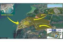 30 Ha Resort Land in Batam Indonesia is for cheap sale- w 600 m beachline