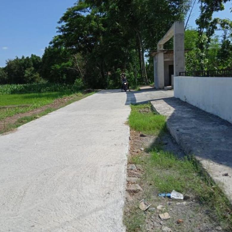 Tanah Pekarangan Area Prambanan, Jual 1 Jutaan Murah Jogja