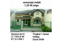 Dijual Rumah wonorejo indah Surabaya murah SHM