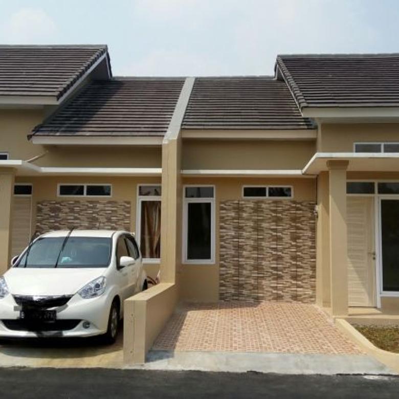 Dijual rumah murah minimalis cluster bisa KPR type 45/88
