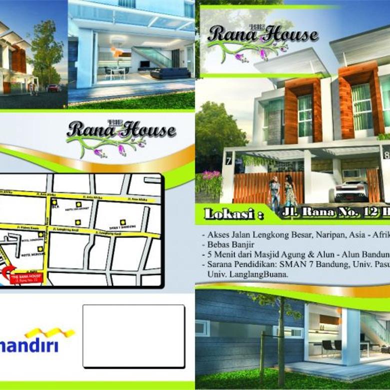 Jual Rumah Modern 2 Lantai Sayap Lengkong Bandung