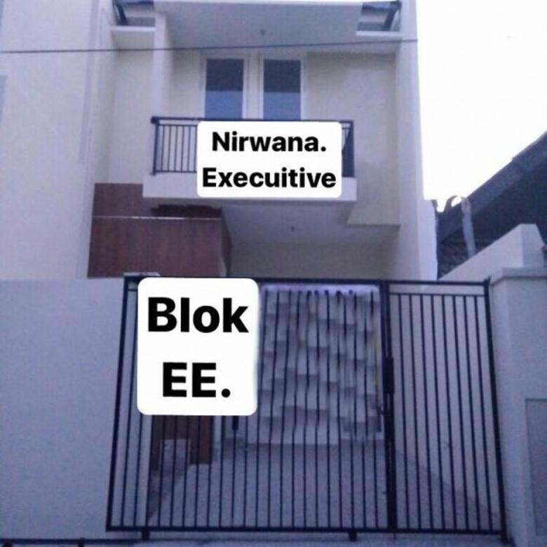 Rumah Nirwana Executive New minimalis