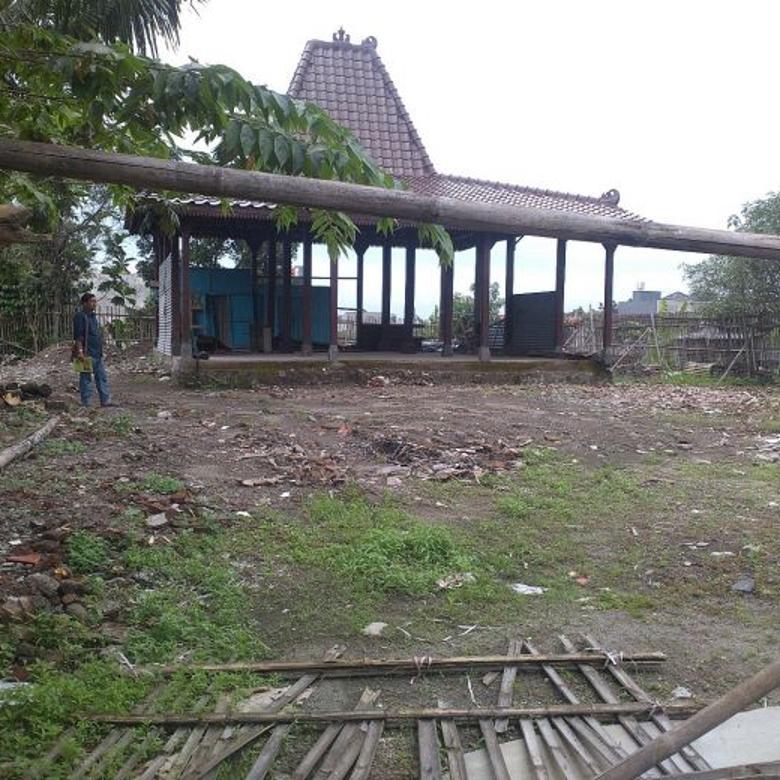 tanah+pendopo cocok buat guesthouse
