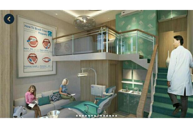 apartemen loft 2 lantai soho ruko westown view sandbridge