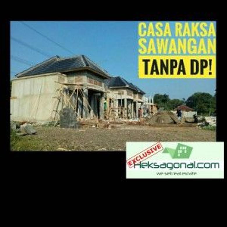 Rumah murah tanpa dp cukup 4jt all in Bogor dan Depok hks6138