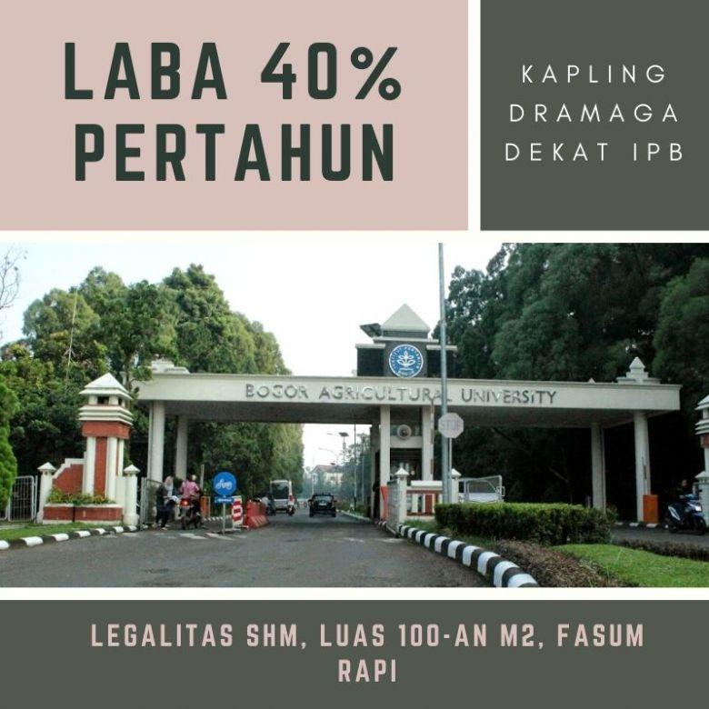 Tanah Perumahan SHM Cuma 1Jt-an Hanya di Jalan Raya Dramaga