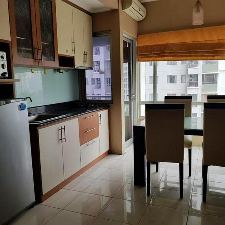Apartemen Sudirman Park 2bedroom full furnished  lantai rendah,Sudirman Jakarta Pusat