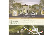 Rumah Dijual, Kota Bali Residence Strategis 500Mtr tol Padalarang dekat KBP