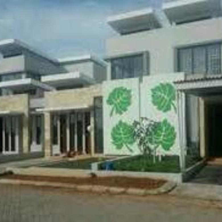 Rumah mewah, cluster 70, hertasning baru, Modern Estate