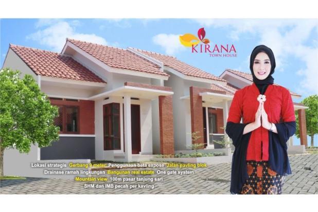 KPR Tanpa DP Bunga Subsidi 6 % di Kirana Sawangan