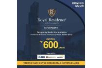 Dijual Rumah Nyaman di Royal Residence Gresiik