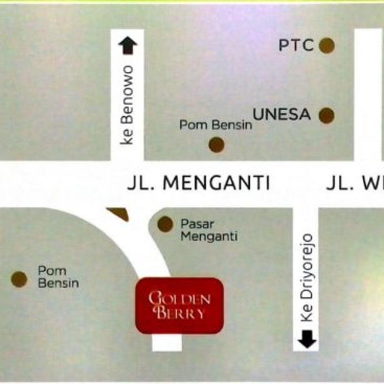 Dijual Rumah Golden Berry Regency Menganti Start 380 Juta