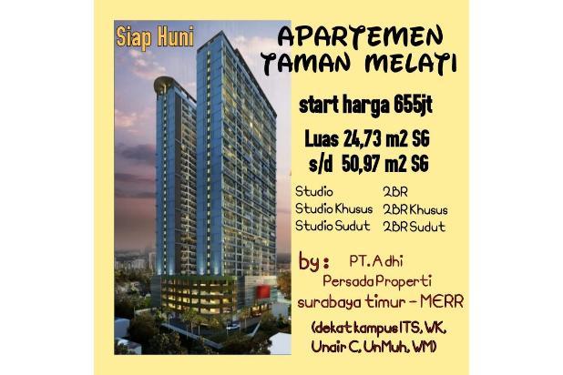 Rp655jt Apartemen Dijual