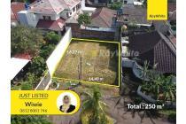 Tanah Kavling Dalam Komplek Asri di Bukit Cinere Indah
