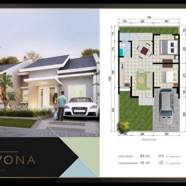 Desain Rumah Minimalis Luas Tanah 84m minimalis swp residence by dian istana menganti br119