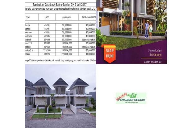 Rumah Dijual Safira Garden Cluster Royal Garden HKS3243 12398176