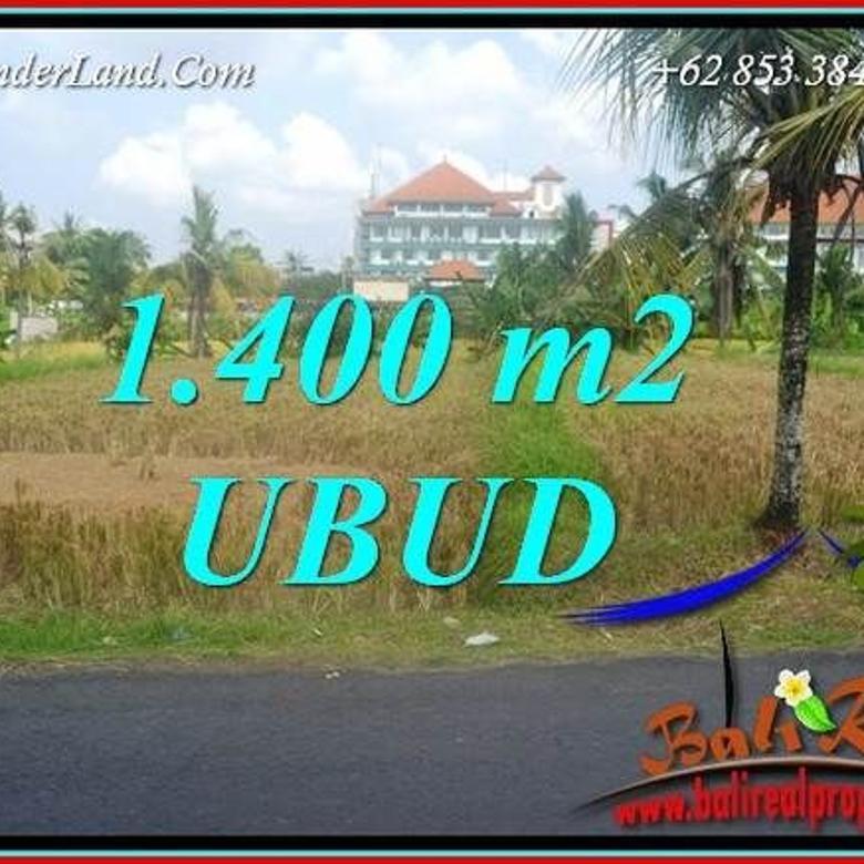 Under Market Price 1,400 sqm in Sentral Ubud
