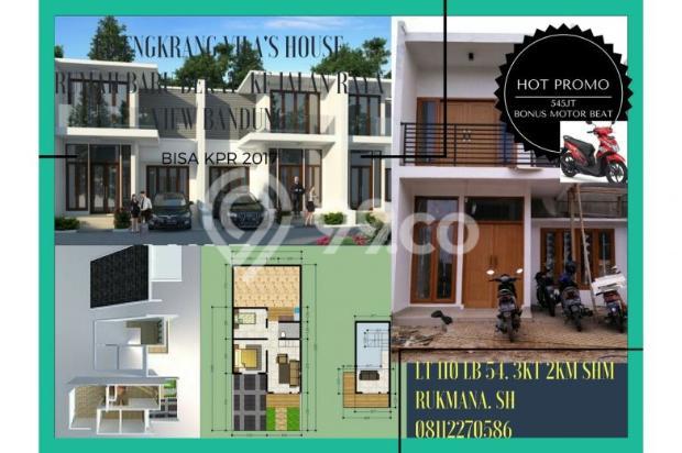 rumah baru super murah konsep mewah 1 lantai bonus 1