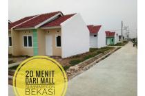 Jual perumahan minimalis bersubsidi lokasi strategis dibekasi