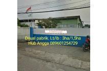 Dijual Cepat Ex Pabrik Siap Pakai di Kawasan Industri Jatake Tangerang