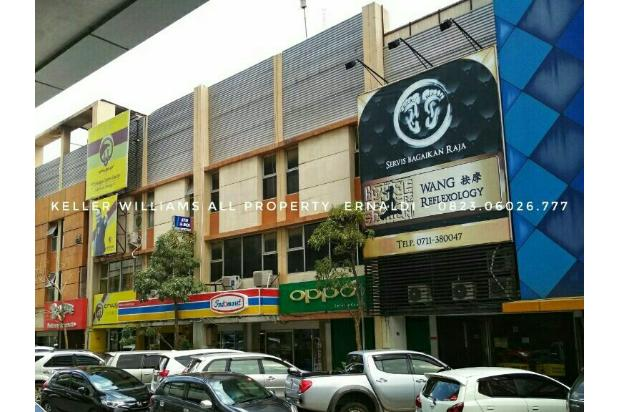 dijual 2 unit ruko 3 lantai di komplek ruko palembang square mall ps mall