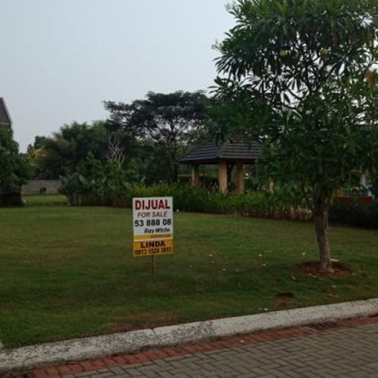 Kavling Siap Bangun Samping Taman Harga Murah (Kode 182)