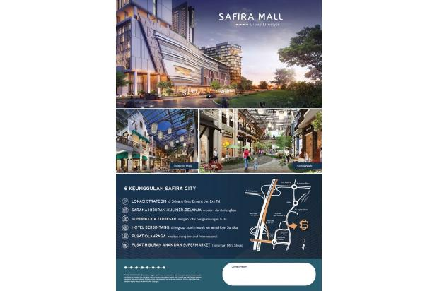 Launching perdana apartement safira city start 200 jt an 15422853