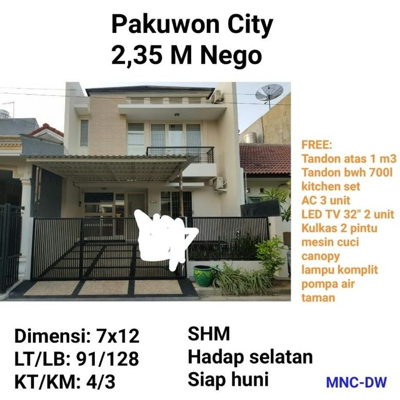 rumah pakuwon city nego