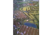kavling Crown Golf PHG, Gading Serpong 945sqm badan hdp Utara