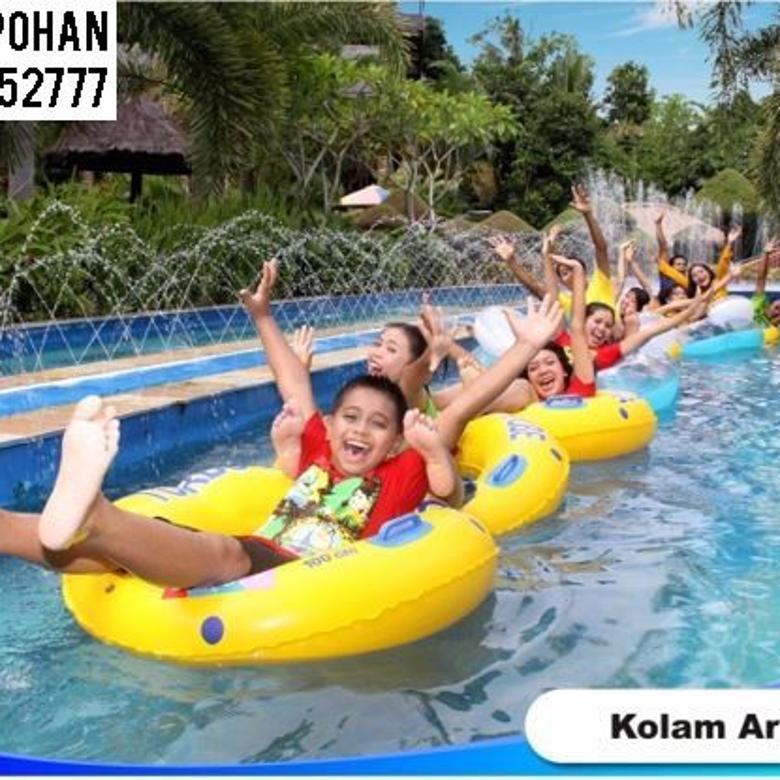 Waterpark di kota Lombok, NTB. Full Fasilitas Wahana