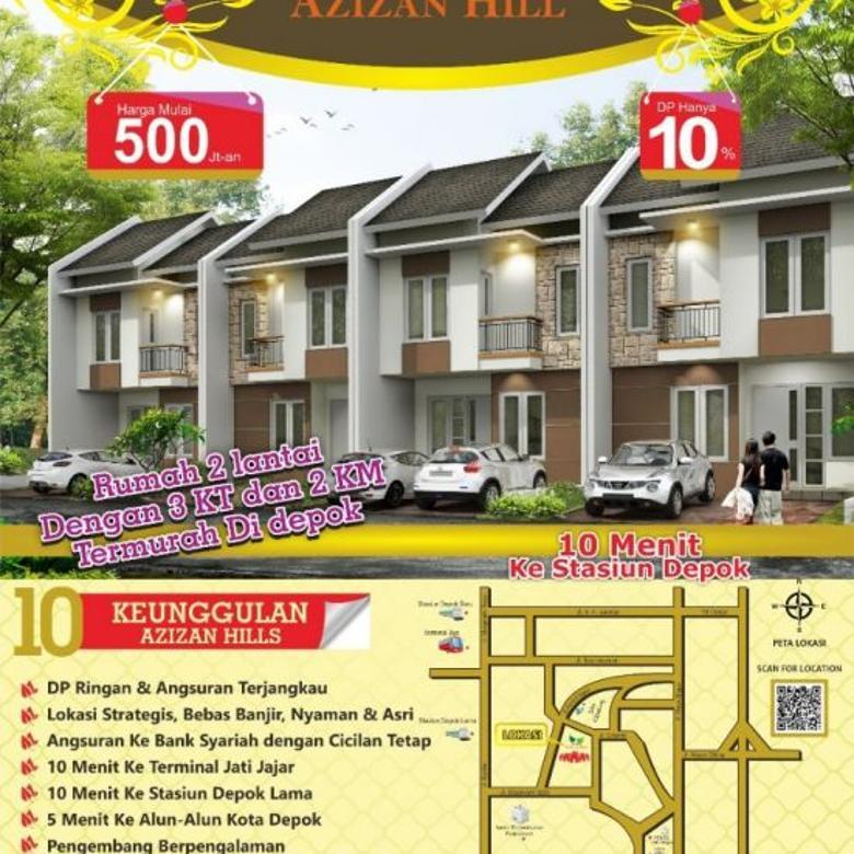 Rumah 2 Lantai harga perdana dekat stasiun Depok Lama