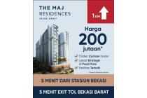 The Maj Residence Apartment Bekasi kota, Akses strategis